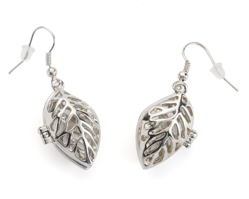 Earrings - Leaf Locket Earrings