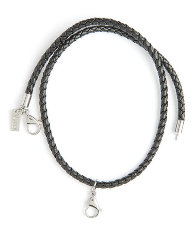 Men's - Genuine Leather Braided Cord