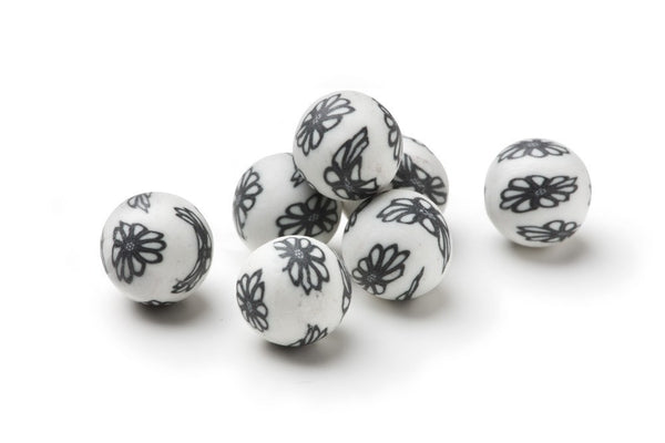 ScentSpheres - White With Black Flowers ScentSpheres®