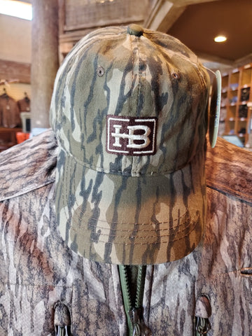 HB Camo Unstructured Hat