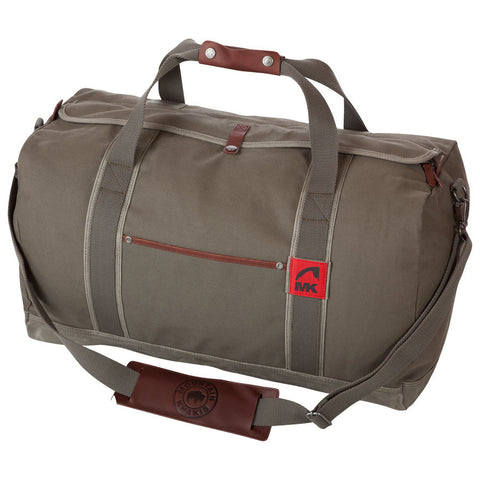 Mountain Khaki Canvas Duffle Bag- Medium