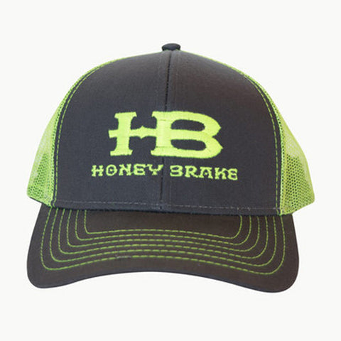 HB Trucker Hat Cap-Neon Green