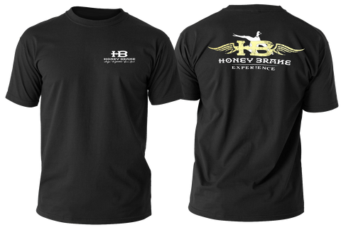 Honey Brake Experience Adult Black T-Shirt