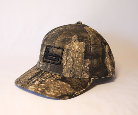 Banded Camo Trucker Cap-Timber