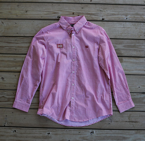 Banded The Curtis Shirt - Cherry Red with HB Logo