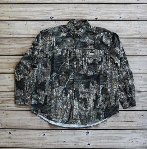 Banded Midweight Long Sleeve Hunting Shirt-Timber with HB Logo