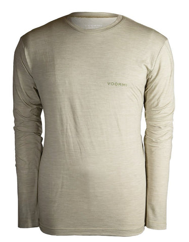 Voormi Men's Long Sleeve Tech Tee-New Sage
