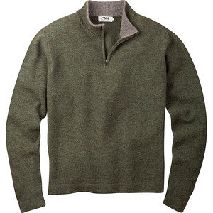 Mountain Khakis Men's Old Faithful 1/4 Zip Sweater