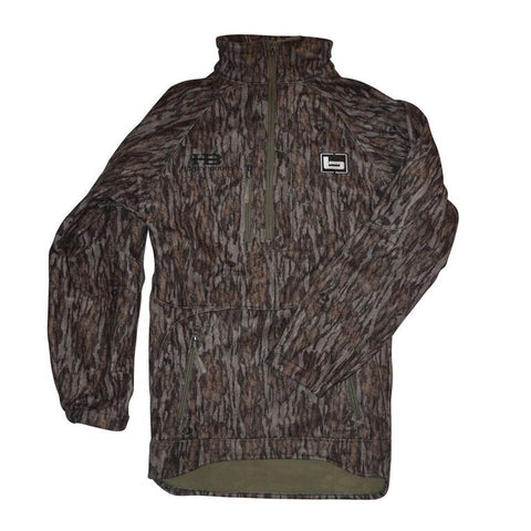 Banded UFS 1/4 Zip Fleece Jacket- Bottomland with Honey Brake HB Logo embroidered on right chest