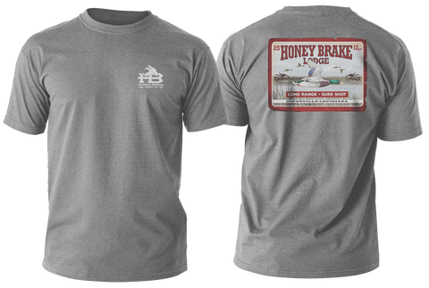 HB Mallard Long Range Youth Gray T-Shirt