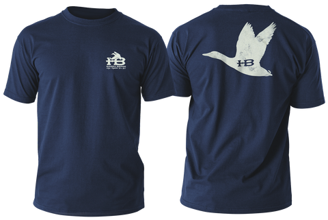 HB Flying Duck Youth Navy T-Shirt
