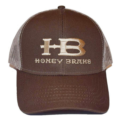 HB Trucker Hat Cap-Brown