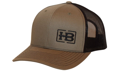 HB Loden/Black Trucker Hat