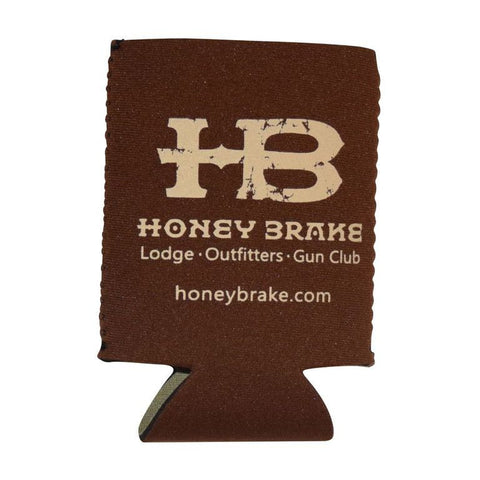 HB Brown Koozie