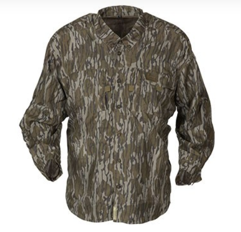 Banded Midweight Long Sleeve Hunting Shirt-Bottomland