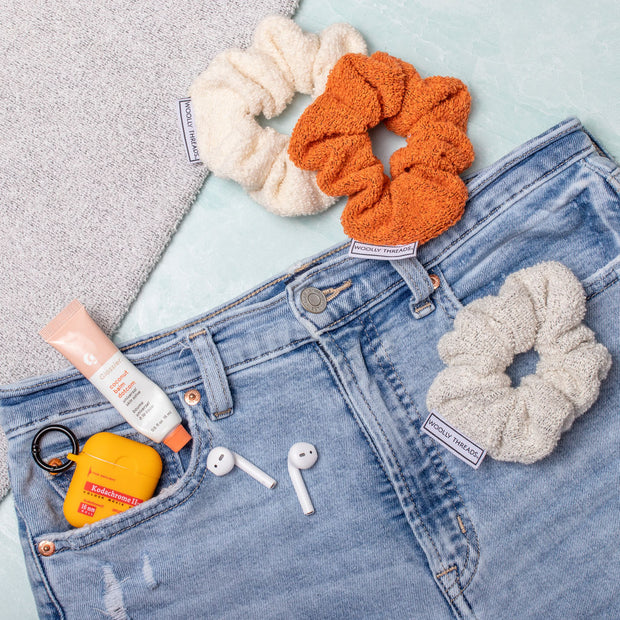 Autumn Recycled Scrunchie Pack