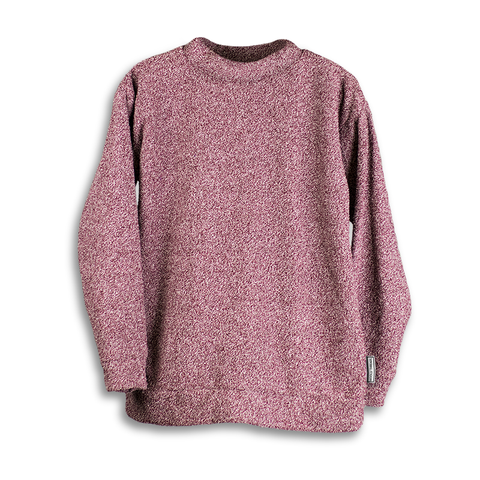 Heathered Maroon Woolly
