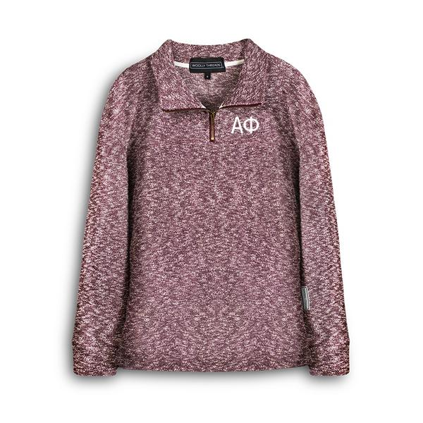 Alpha Phi Embroidered Heritage Zip