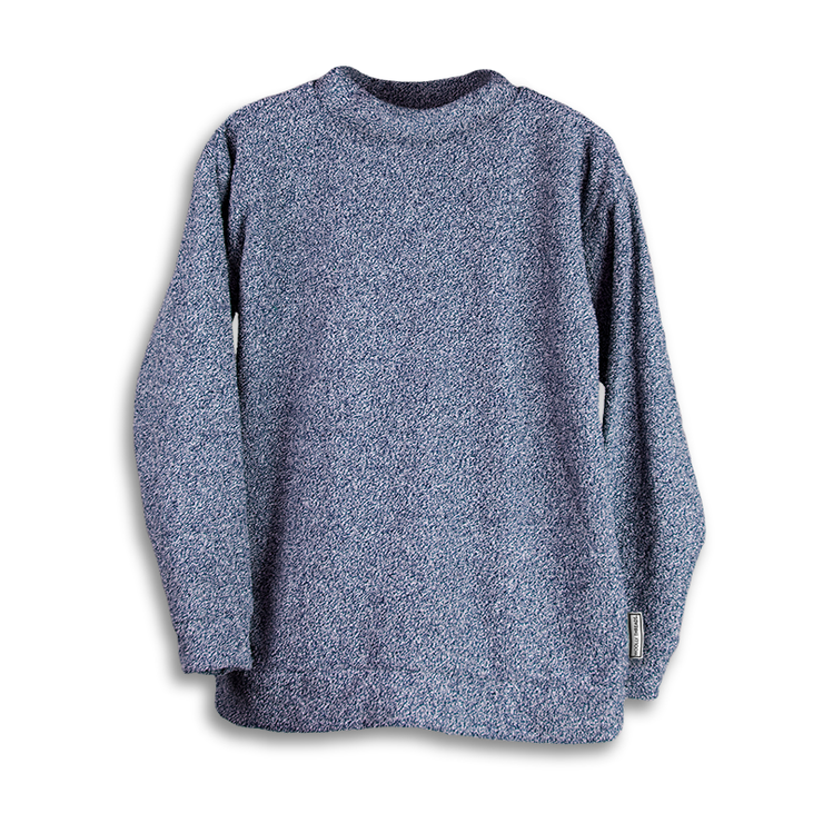 Heather Navy Woolly