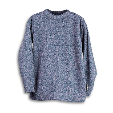 Heathered Navy Woolly