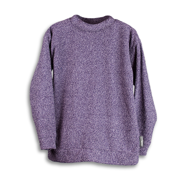 Heathered Purple Woolly