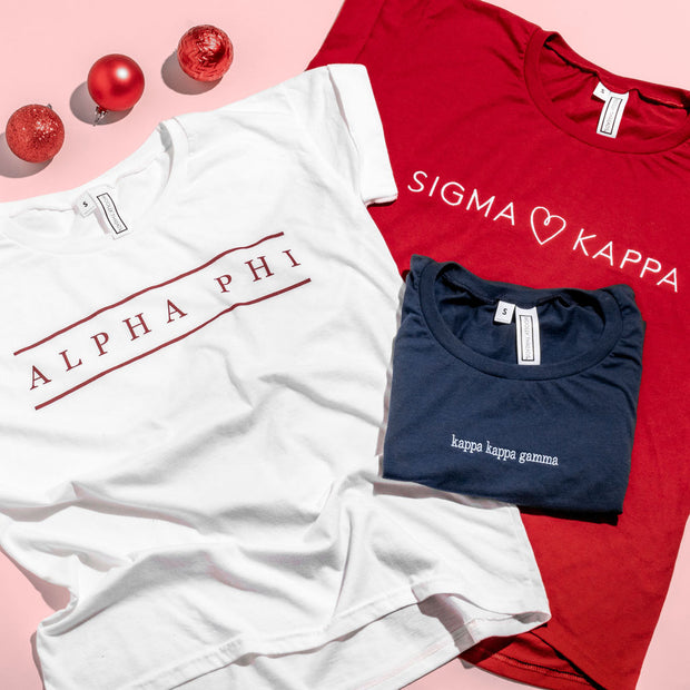Sigma Kappa Roll Up Tee