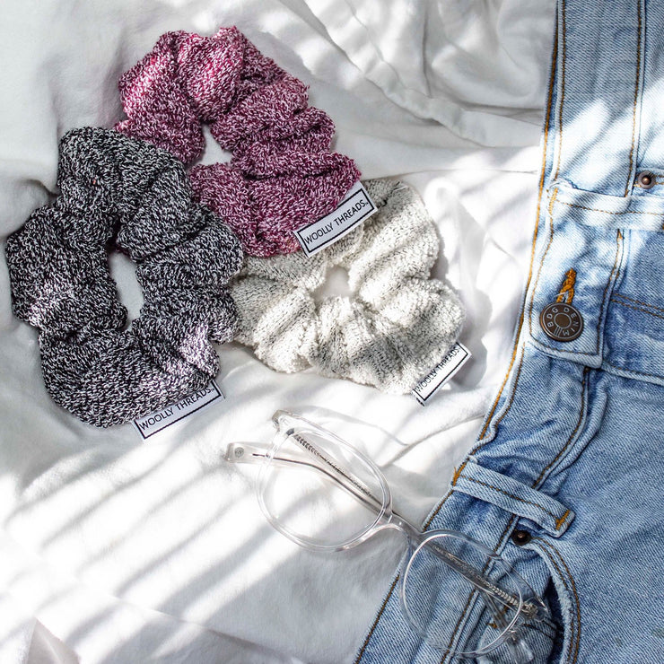 Recycled Woolly Scrunchie Pack