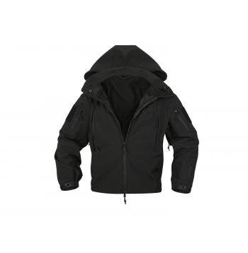 Mens Jacket - Special Ops Soft Shell, Black, 4X-Large by Rothco