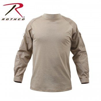 Rothco 90030 Desert Sand Military Combat Shirt, Medium