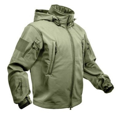 Rothco - Special OPS Tactical Soft Shell Jacket - Olive Drab