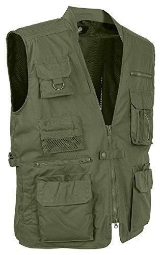 Rothco Plainclothes Concealed Carry Vest, Olive Drab, Medium