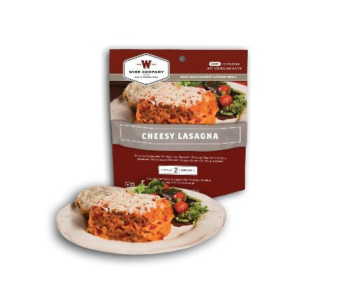 Freeze dried cheese lasagna