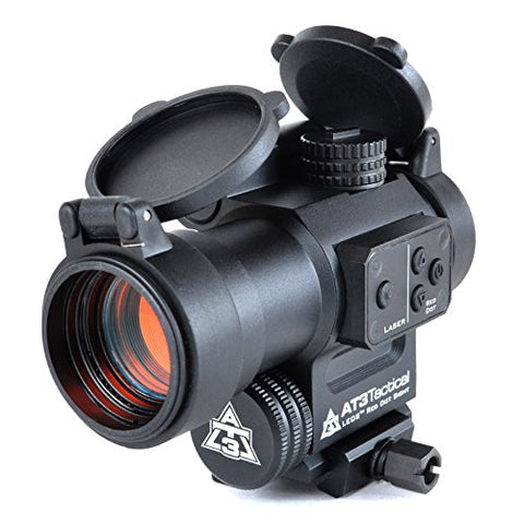 AT3 LEOS Red Dot Sight with Integrated Laser & Riser