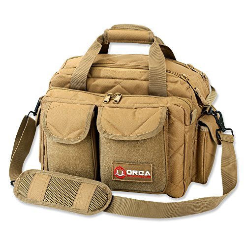 Orca Tactical Gun Pistol Handgun Shooting Range Duffle Bag