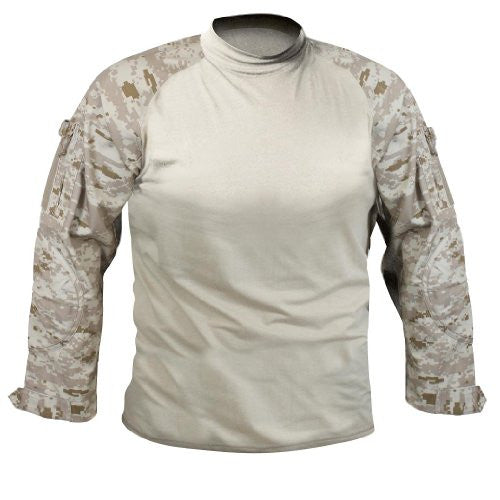 Rothco Combat Shirt in Desert Digital Camo - 3x-large
