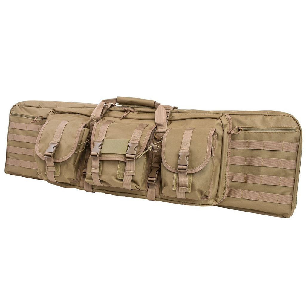 VITO Tactical Hunting Range Dual Carbine Rifle MOLLE Padded Case Bag