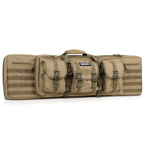 Savior Equipment Tactical Double Long Rifle Bag Transportation Case Backpack