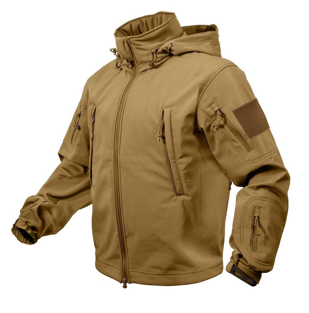 Rothco Coyote Brown Special Ops Tactical Softshell Jacket