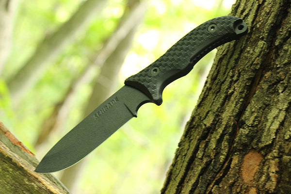 Schrade SCHF36 10.4in Stainless Steel Fixed Blade Knife