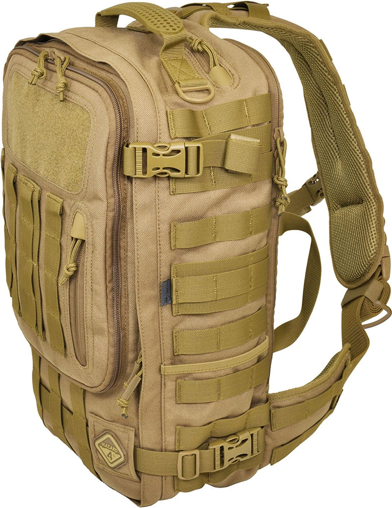 Sidewinder Full-Sized Laptop Sling Pack - Coyote
