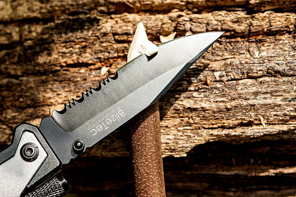 BlizeTec Survival Knife: Best 5-in-1 Tactical Pocket Folding Knife