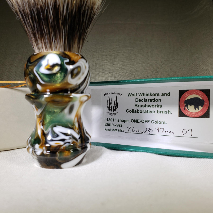 Guest Artisan Series - Wolf Whiskers - 1301 One-Off - 26mm B7