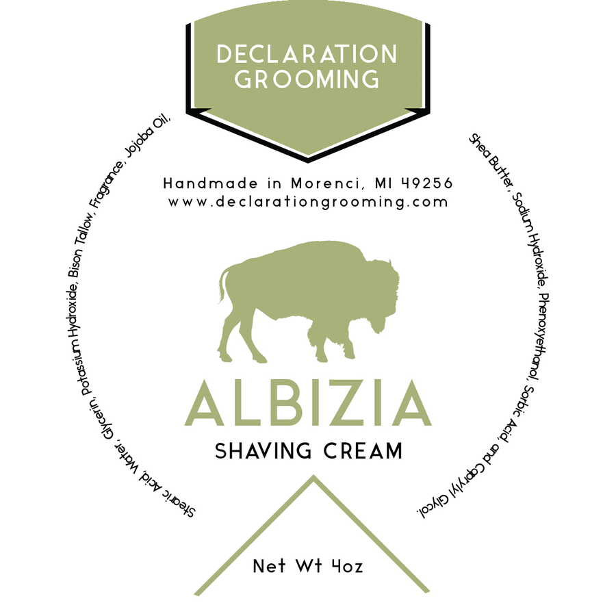 Albizia - Project Sphinx Shaving Cream - 4oz - Limited Base and Scent
