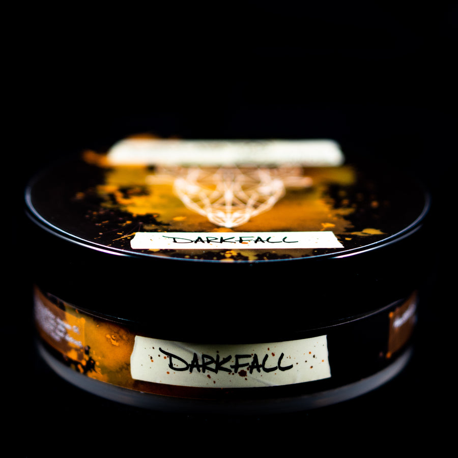 Darkfall Shaving Soap - Milksteak Base - 4oz - Autumn Seasonal