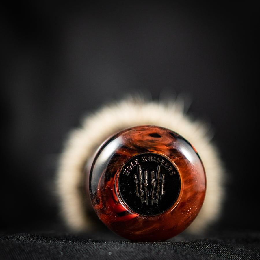 Guest Artisan - Wolf Whiskers - DWW-3 Black Cherry Ice - 28mm - B8, B9A, or B9B