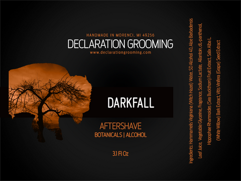 Darkfall - Alcohol Aftershave Splash - 3.1 fl oz