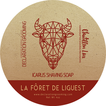 La Forêt de Liguest Shaving Soap - Icarus Base - 4oz - Limited Edition