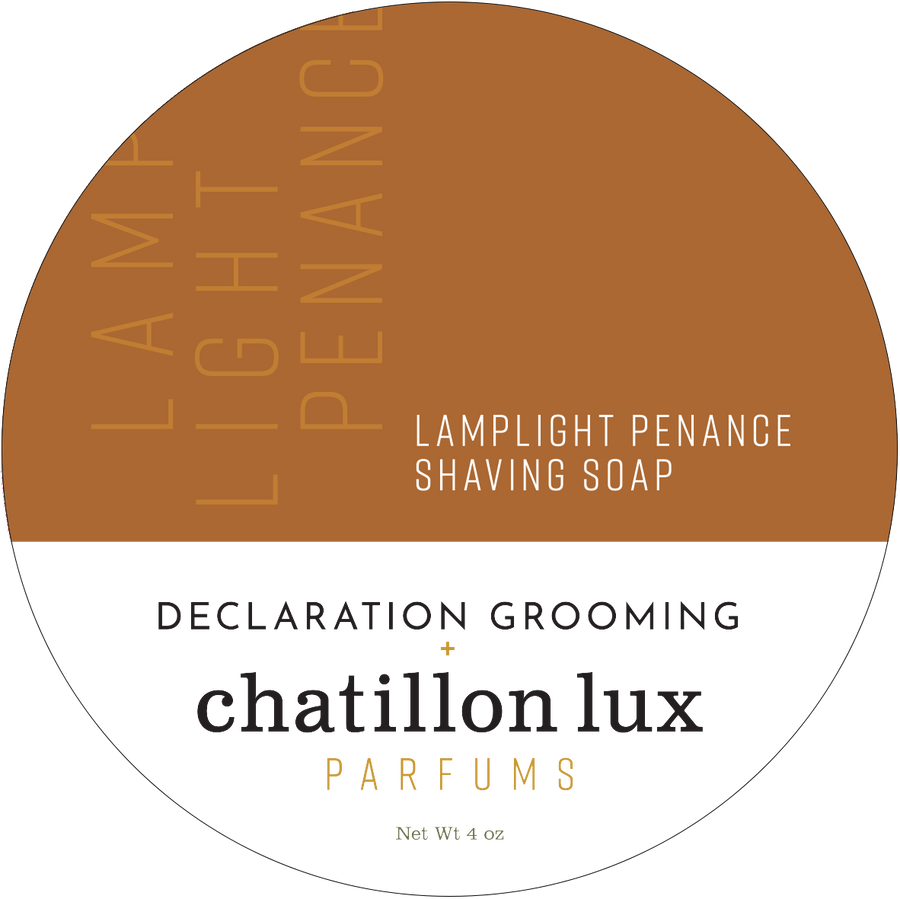 Lamplight Penance Shaving Soap - Icarus Base - 4oz - Limited Edition