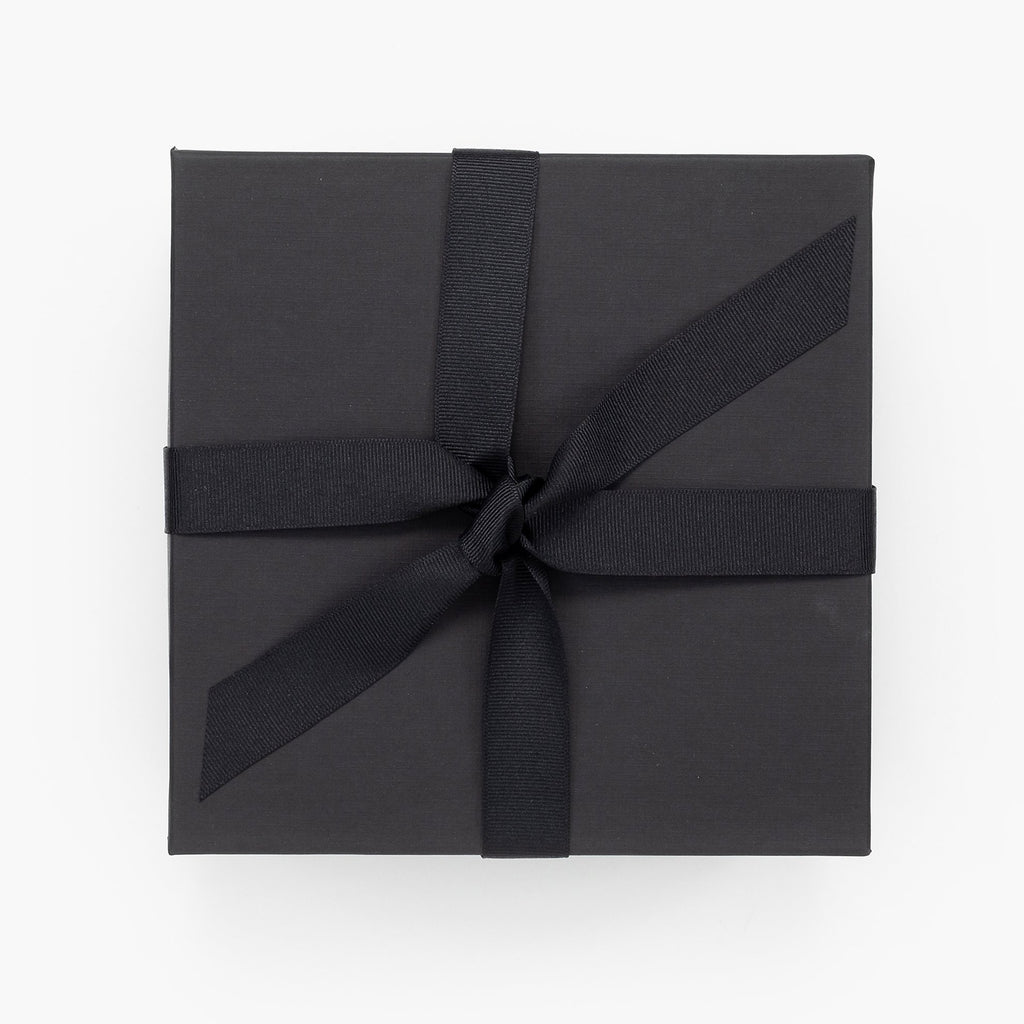 Black rigid gift box