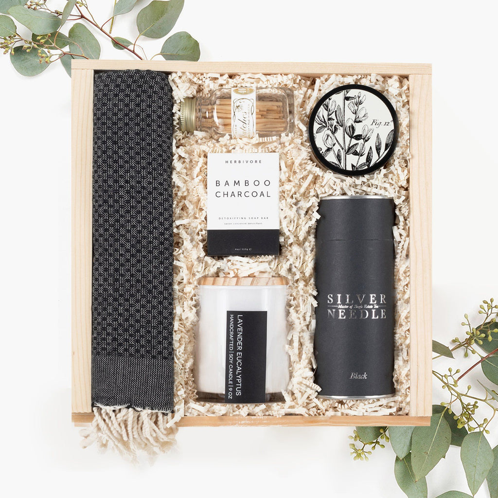 Black Unwind Neutral Gift Box